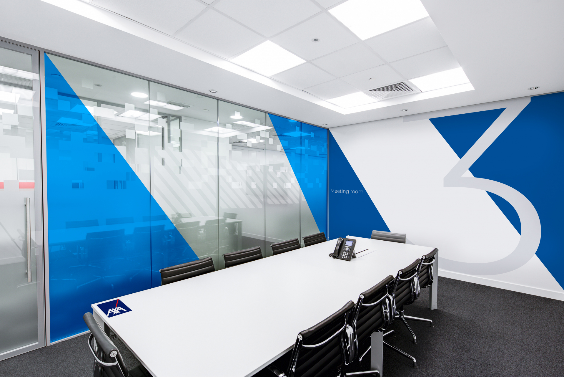 AXA_signage-on-office-interior