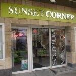 3d letters sunset corner
